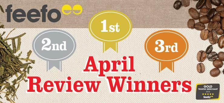 April FEEFO Review Winners!