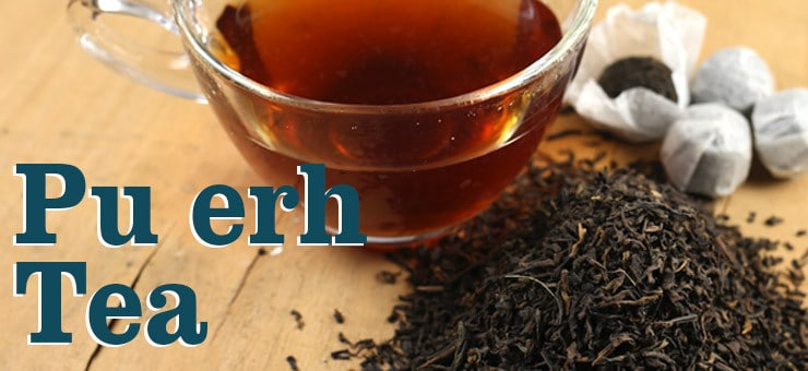 5 Good Reasons to Drink Pu-erh Tea
