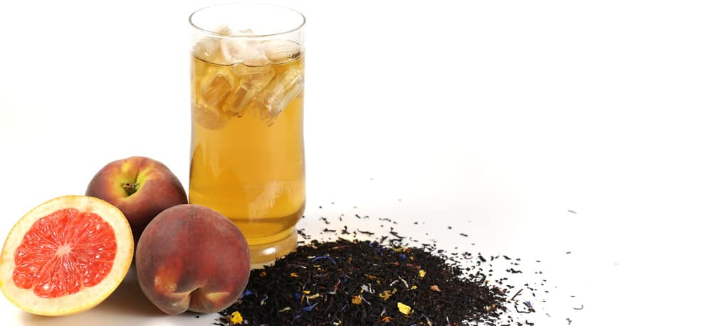 Exotic Peach Iced Tea