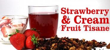 Strawberry and Cream Tisane Tea