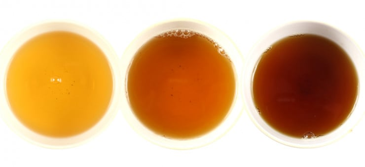 Brewed Darjeeling Tea