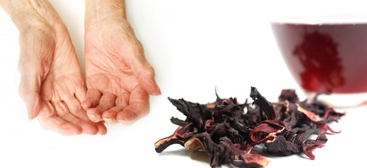 Anti Aging Hibiscus Flower Tea