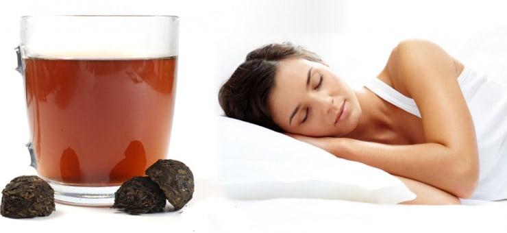 Pu Erh Tea Helps you Sleep