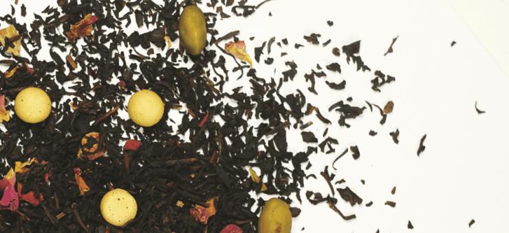 Pistachio and Marzipan Black Tea