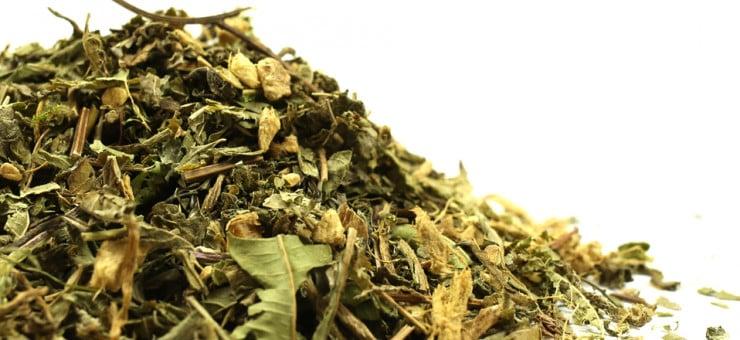 Detox Lemon and Ginger Herbal Tea