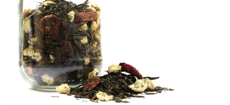 Anti Ageing properties Jasmine Tea
