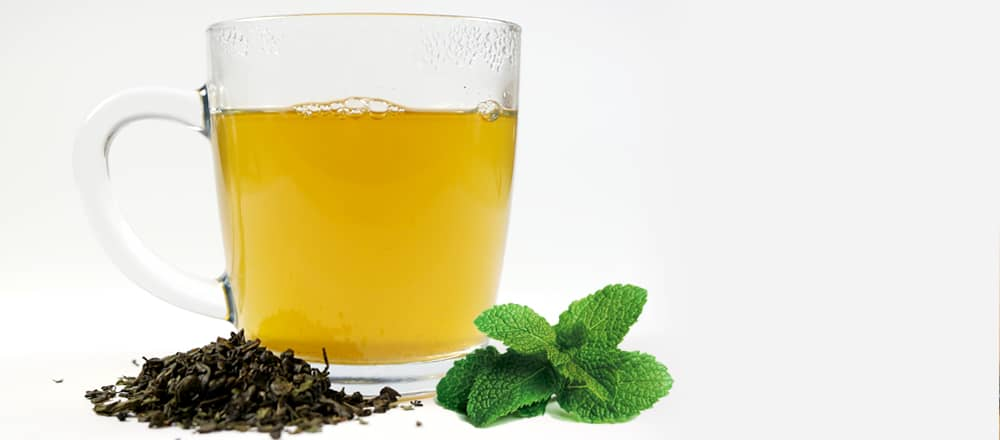 Peppermint Green Tea