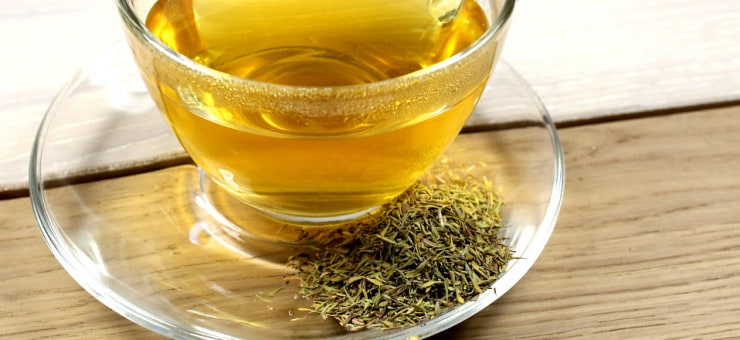 Thyme Tea for Coughs