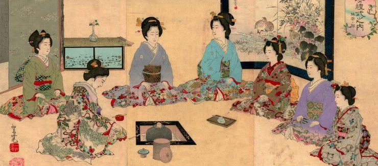 History of Japanese Tea