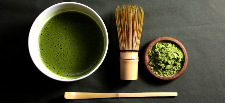 Rolling and Twisting Japanese Green Tea from Japan