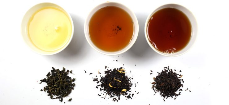 Different Types of oolong Tea