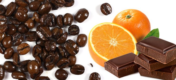 Chocolate Orange Flavoured Coffee