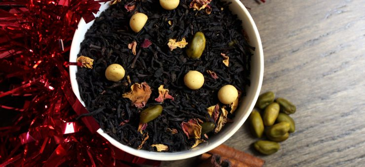 Pistachio and Marzipan Flavoured Black Tea
