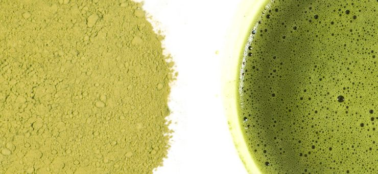 Peppermint Matcha Tea