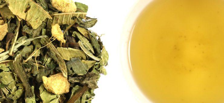 Detox Lemon and Ginger Tea