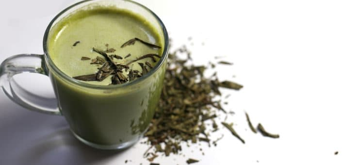 How To Make A Latte with Green Tea