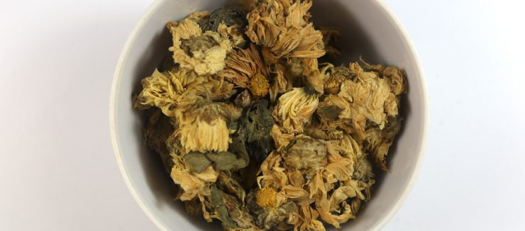 Caffeine in Chrysanthemum Tea