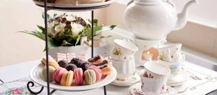 What Beverages are Served with Afternoon Tea?