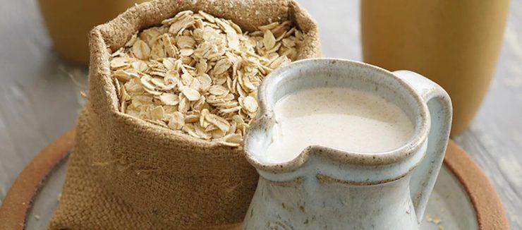 A Popular Alternative is Oat Milk in Coffee