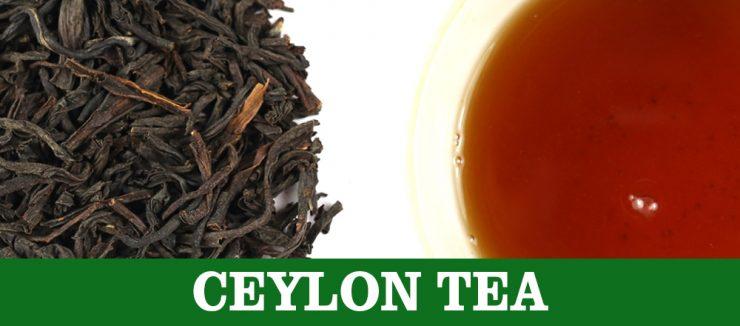 C is for Ceylon Tea