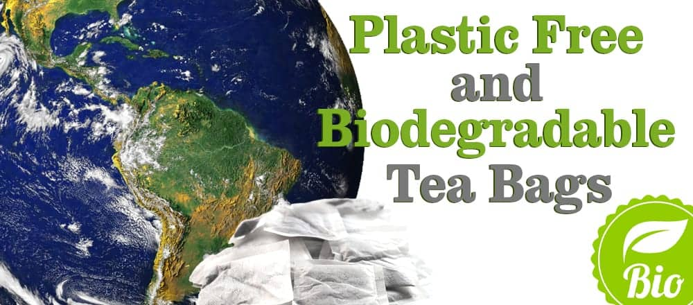Plastic Free Tea Bags and Biodegradable