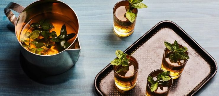 How to Make Spearmint Tea