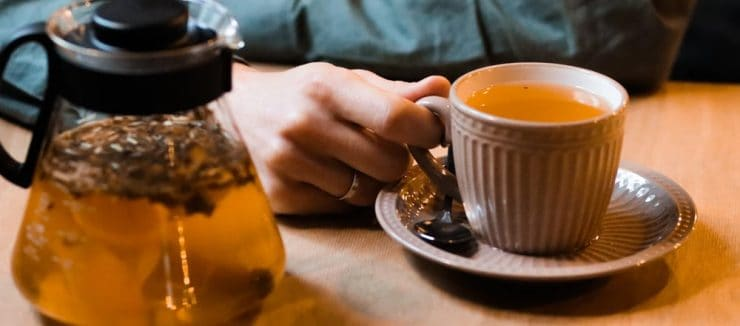 Drink Lemon Balm Tea for Colds and Flu