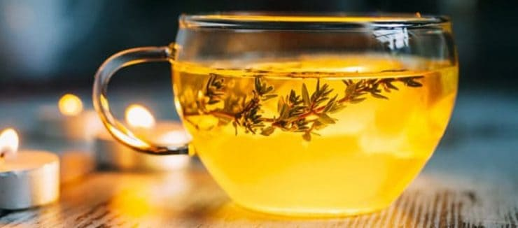 Drinking Thyme Tea for Acne
