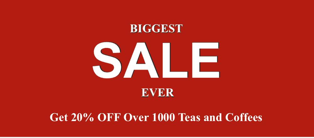 Biggest Sale Ever - 20% OFF