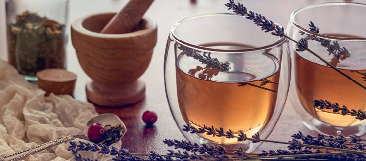 Lavender Tea for Skin Health