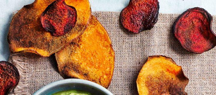 Beetroot and Sweet Potatoes Crisps