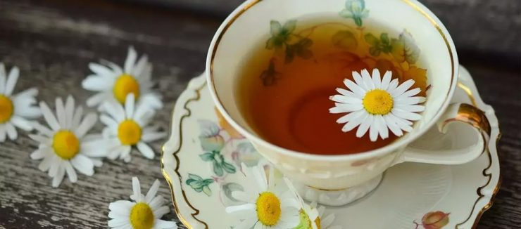Camomile Tea Hair Treatment