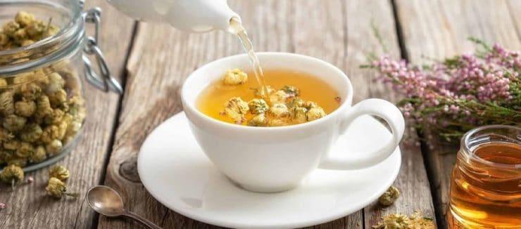 Camomile Tea Caffiene