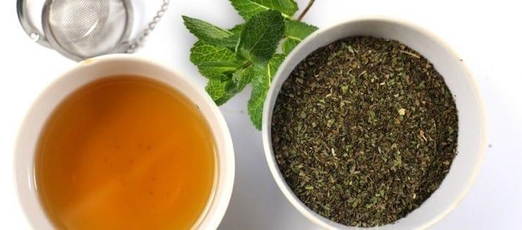 Peppermint Tea is an Excellent Caffeine Free Alternative