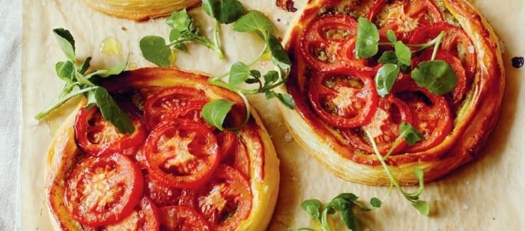 Cherry Tomato Tartlets
