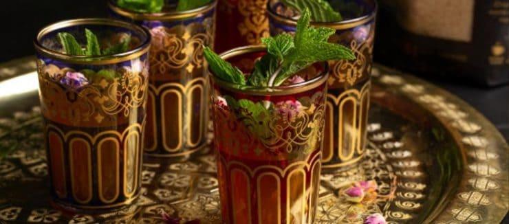 Moroccan Mint Tea Ceremony